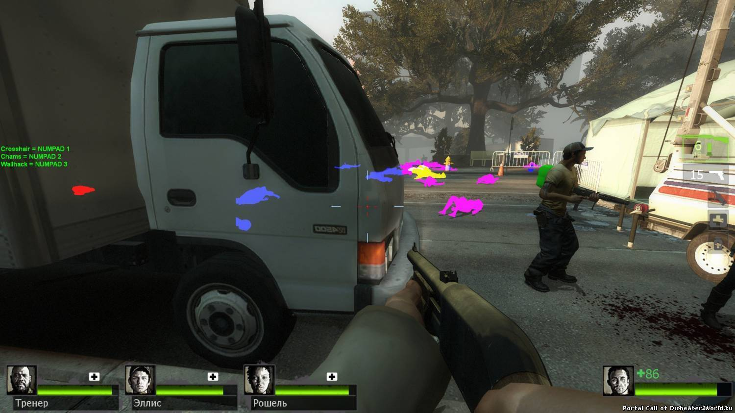 Left 4 Dead 2 Chams Wallhack